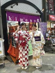 빈손으로 OK! 렌털 기모노로 일본 문화 체험. 아사쿠사 산책 플랜