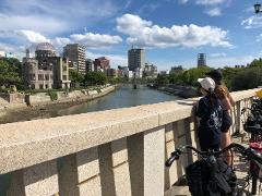 Hiroshima Cycling Peace Tour with Local Guide