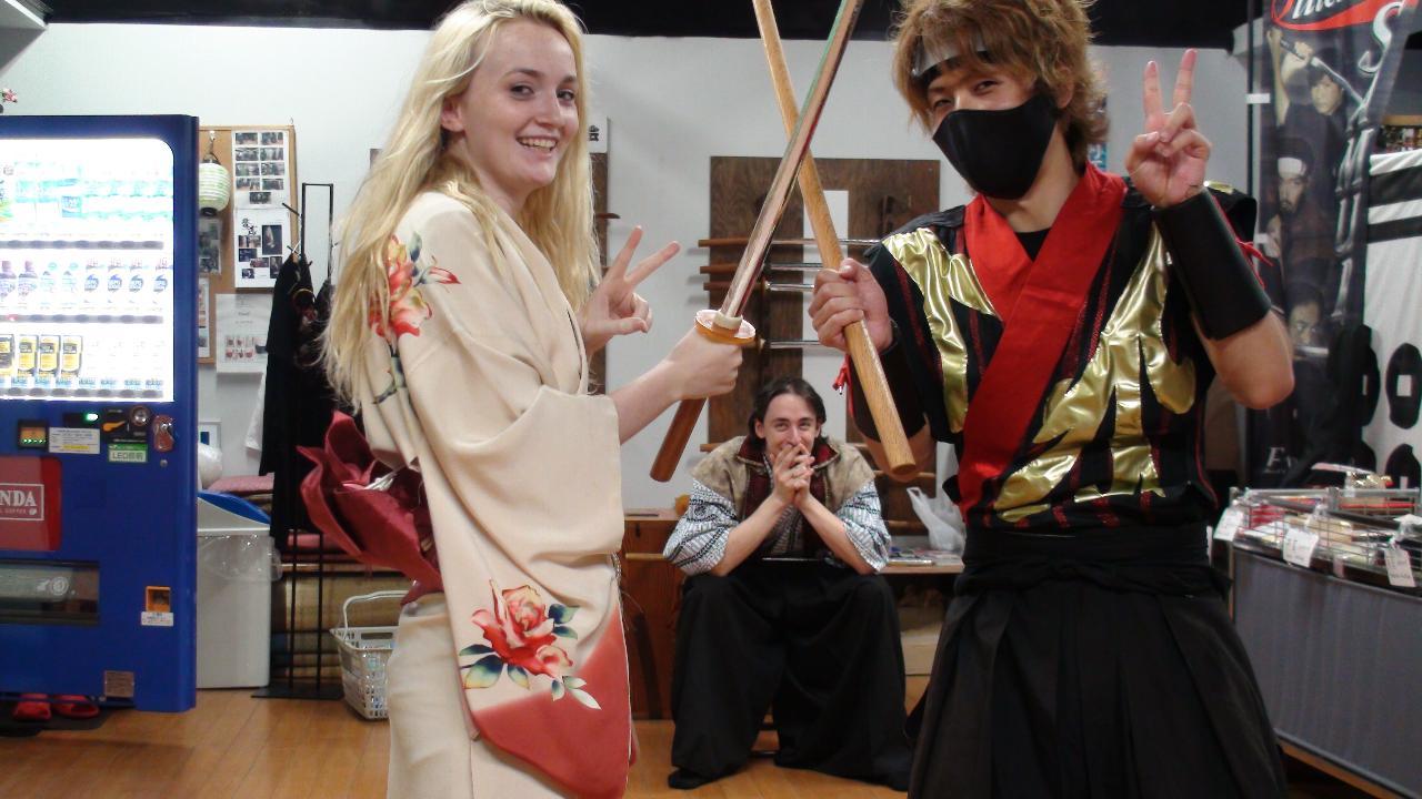 "【Association of Japanese Tate-dou】Becoming ""Samurai"" (Regular course) / 侍体験 レギュラーコース"