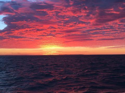 Oceanic Sunrise Kayak