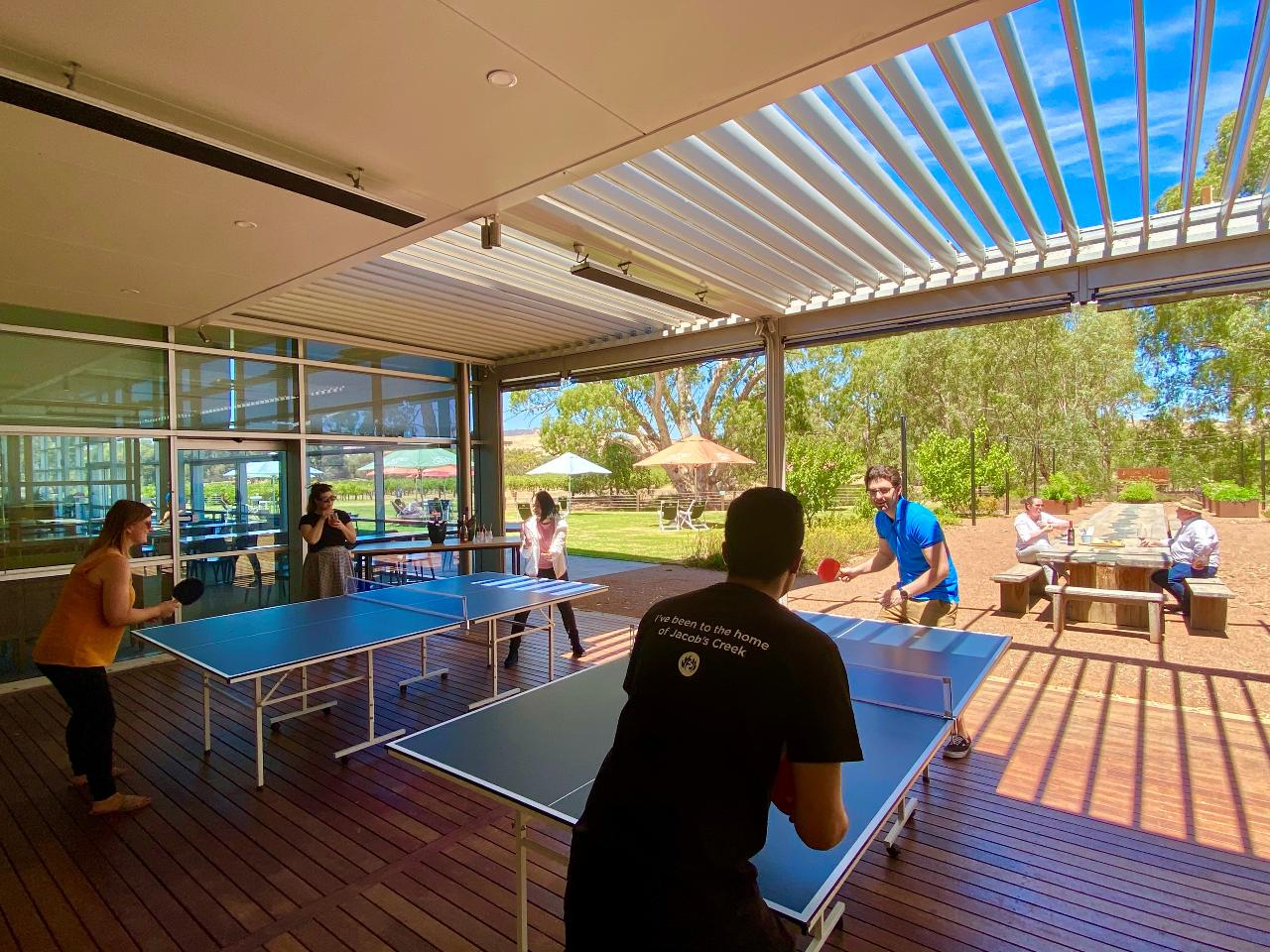 Jacob's Creek Group Ping Pong Pursuit