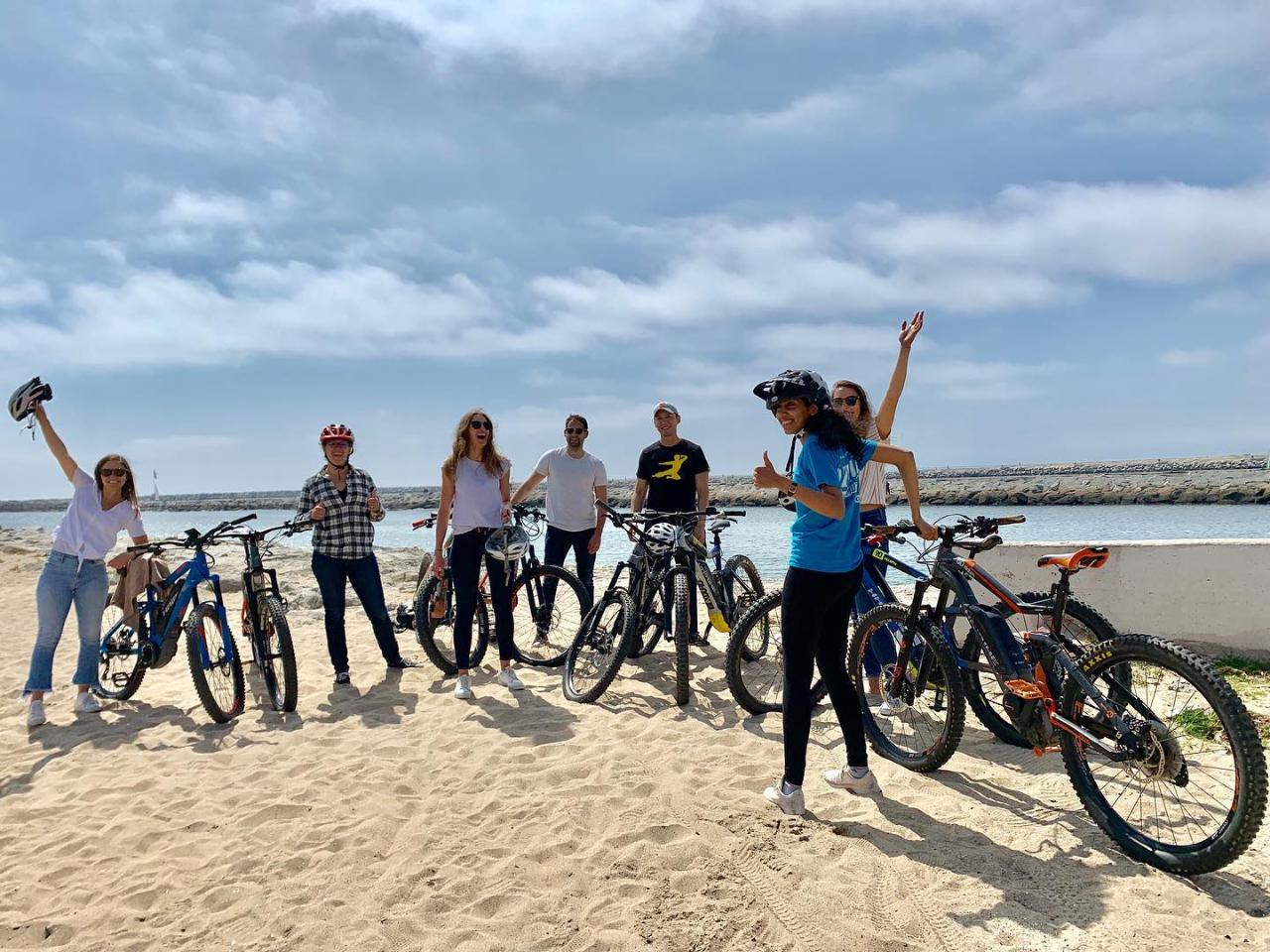 Marina Del Rey to Manhattan Beach e-Bike Coastal Beach tour