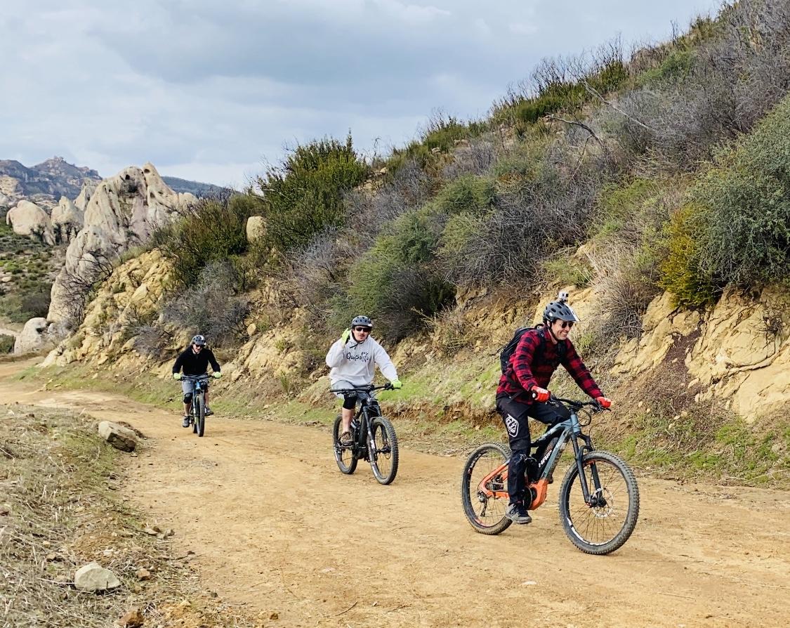 Sullivan Canyon (Pacific Palisades)Electric MTB - Freeride/Downhill 90 min - (BEGINNER)