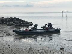 Full Day - 16' Inflatable Fishing boat w/ 6HP motor