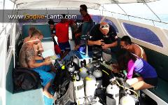 Private Speed Boat : Scuba Diving Trips