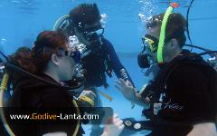 Try Scuba Diving Course at The Pool