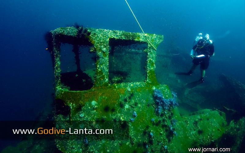 [ Online ] PADI Wreck Diver Course 4 Dives