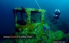 PADI Wreck Diver Course 4 Dives