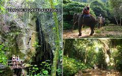 Excursion Trip : Elephant Trekking - Waterfall & Explore Cave - Tigers caves