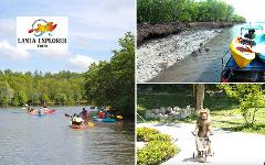 Excursion Trip (Half Day) : 2 in 1 Monkey School Monkey School - Explore Mangrove (Kayak or Longtail Boat)