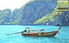 Snorkelling Trip : 4 Islands by Longtail Boat