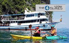 Excursion Trip : 4 Islands on Big Boat
