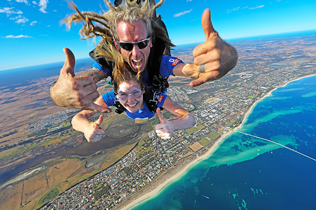 10,000ft Busselton Beach Tandem Skydive