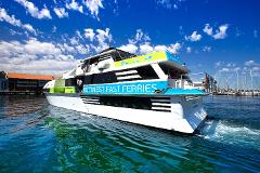 10,000 ft Tandem Skydive and Rottnest Fast Ferries ex Hillarys Ferry Package Including Handcam Video and Photos Gift Voucher