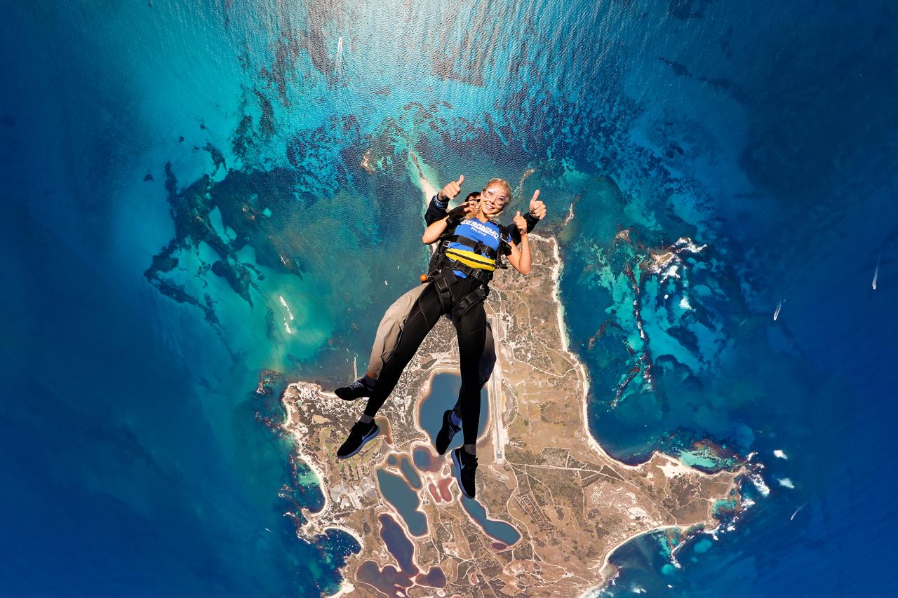 Geronimo Rottnest 14,000ft with Handcam Video and Photos - Gift Voucher