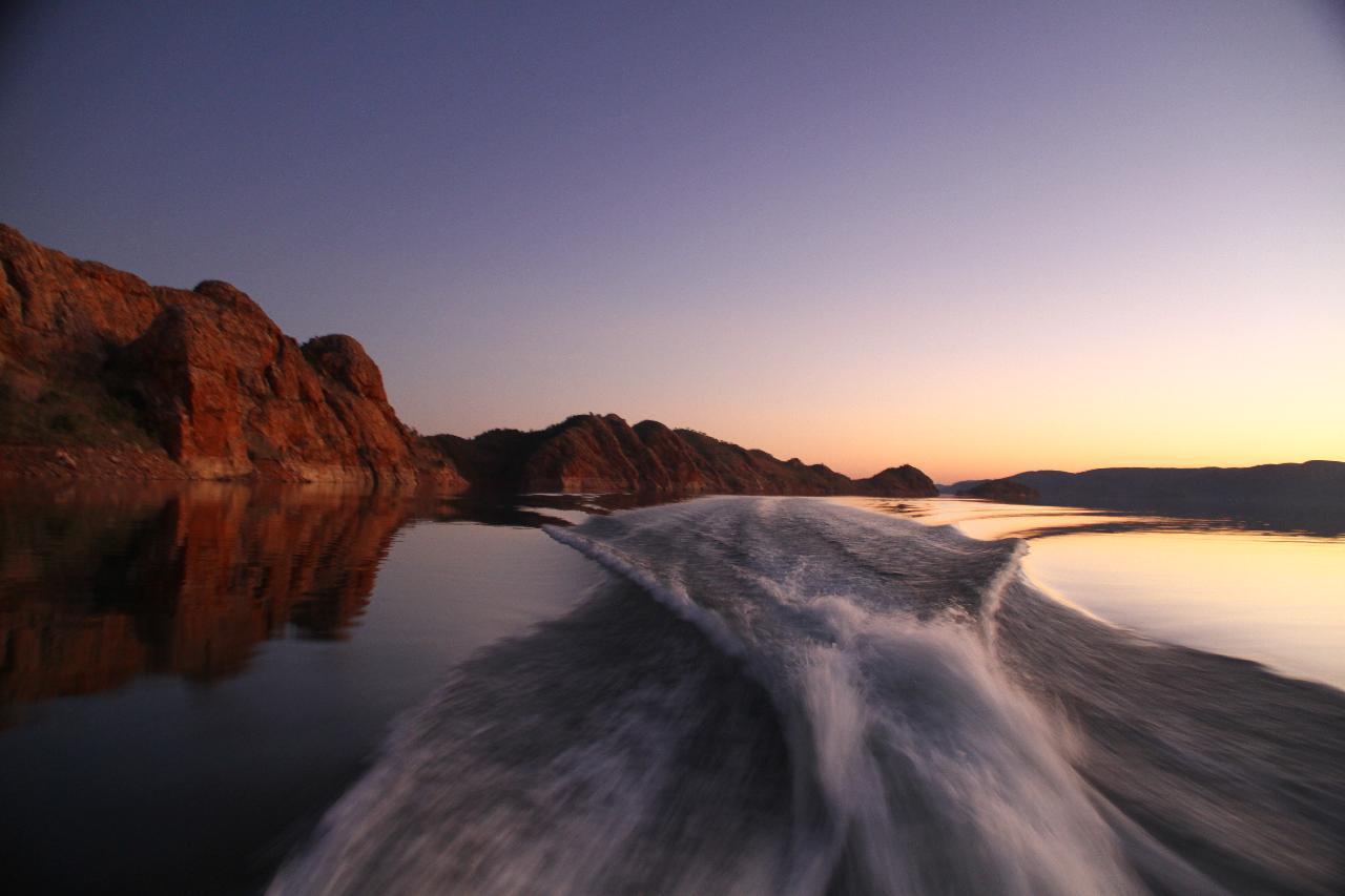 Sunset Magic Cruise Ex Lake Argyle