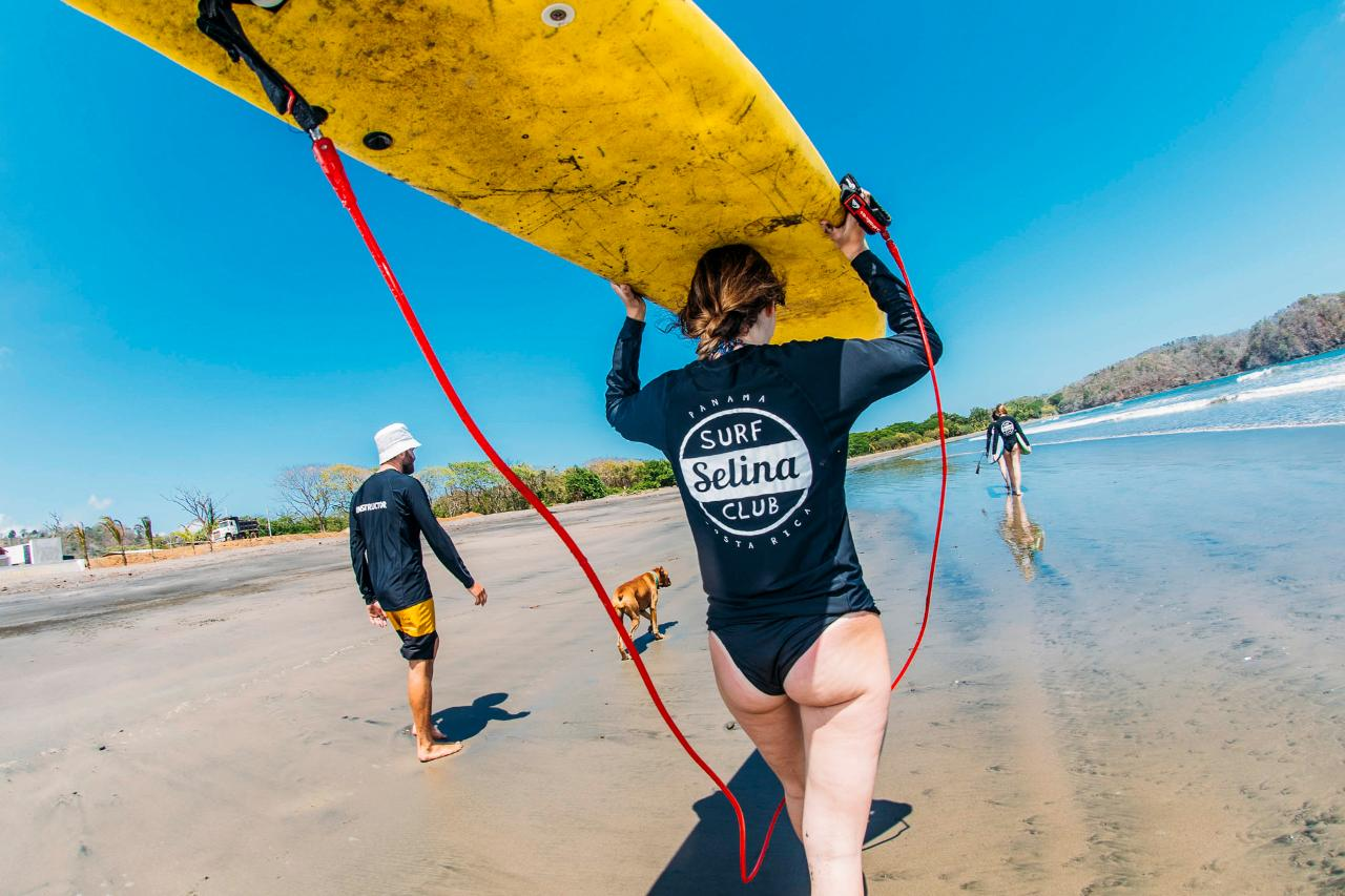 Surf Lessons package: 5 nights
