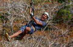 ZIPLINE CANOPY TOUR (MAY TO NOVEMBER 2017)