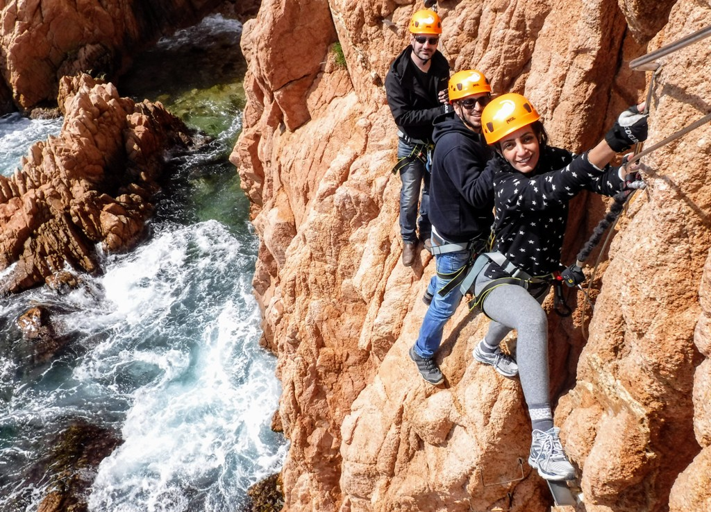 Via Ferrata in Costa Brava