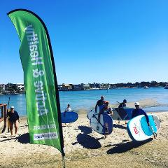 A & H Program - OVER 50's SUP lesson