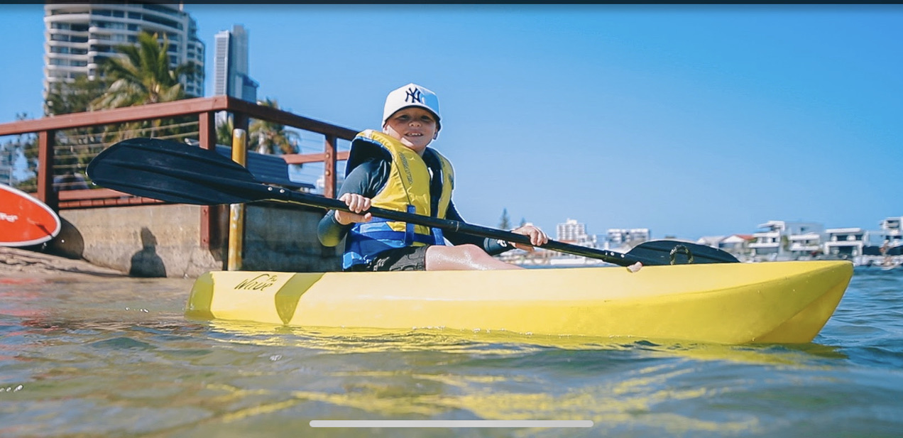 Kayak for Kids - lesson