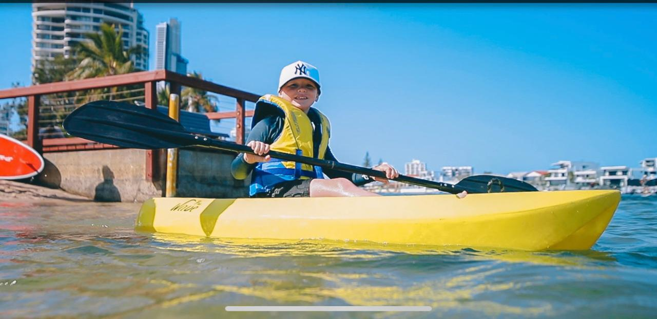 Kayak for Families - lesson
