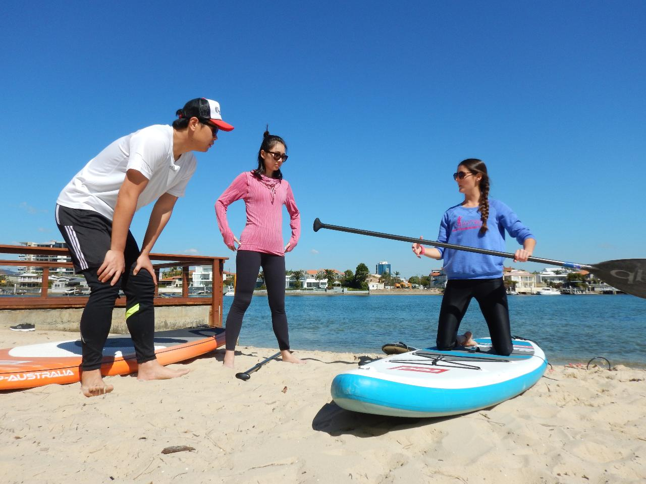 Stand Up Paddle (SUP) Beginner Lesson