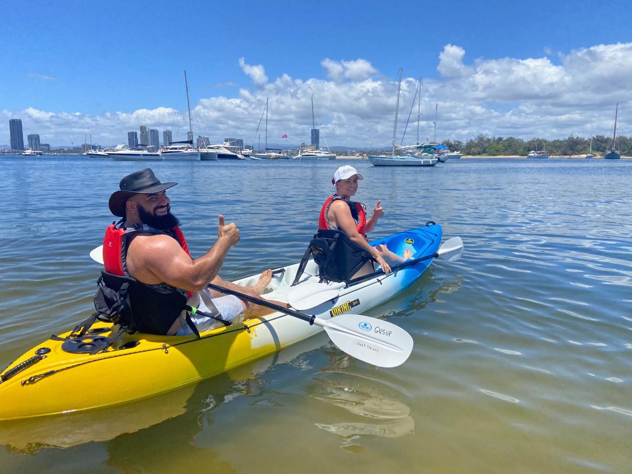 Kayak Tour - Broadwater Tour