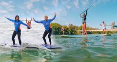 COMBO 1 - Stand Up Paddle Tour & Surf Lesson