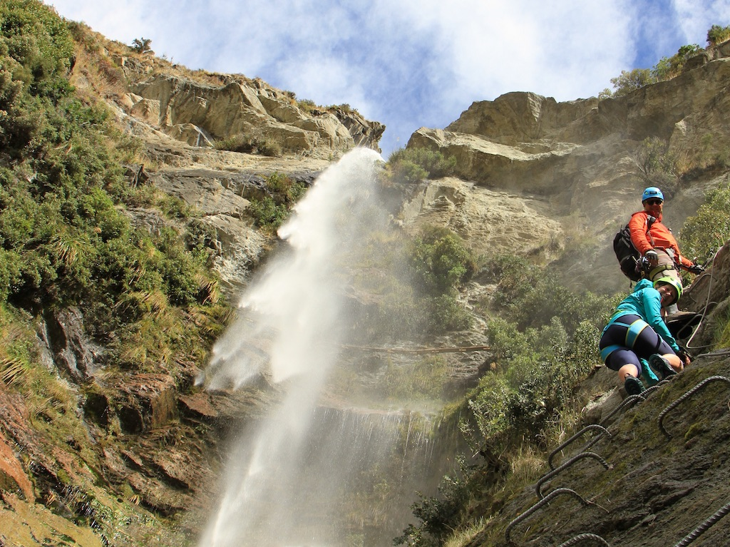 Lord of the Rungs Waterfall Climb