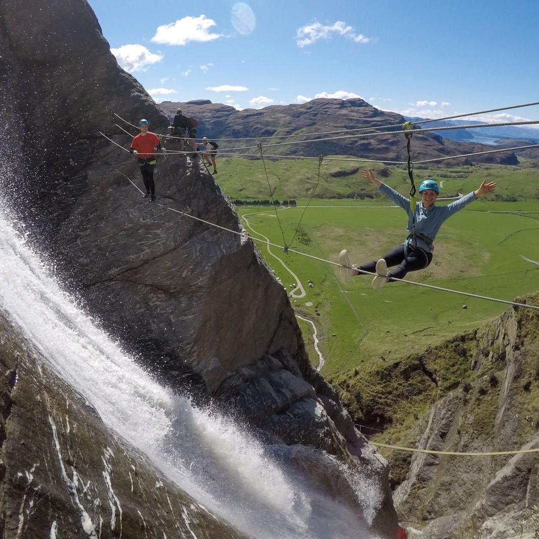 Wild Thing Waterfall Climb