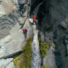 Lord of the Rungs Waterfall Climb