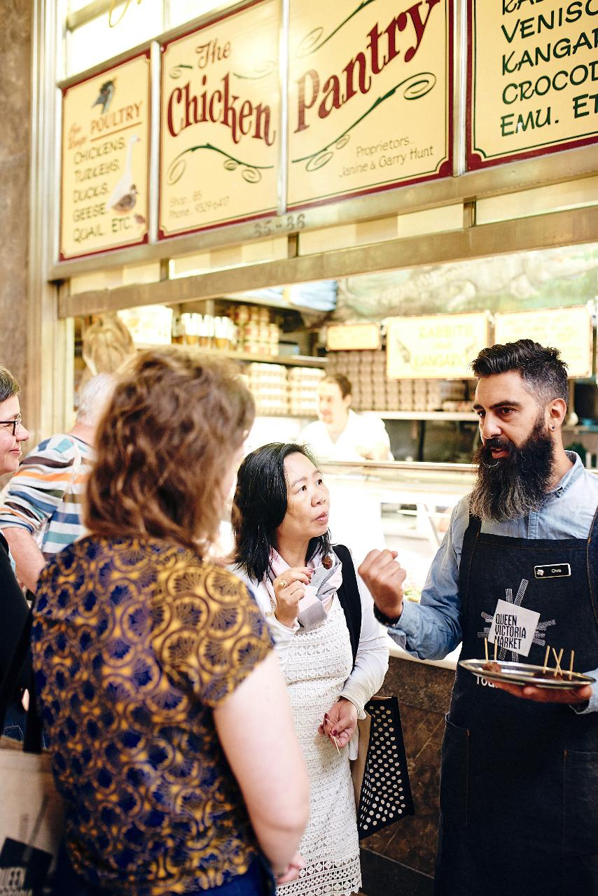 Queen Vic Market Ultimate Foodie Tour Gift Card