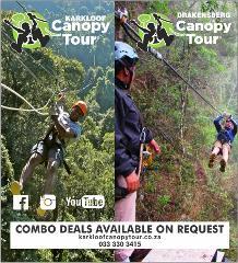 Karkloof and Drakensberg Canopy Tours Combo