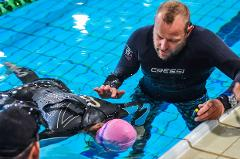 Freediving course (Stage A) with ANT JUDGE