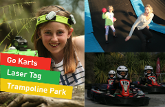 All Day FUN Pass (Fun Karts 10, Laser Tag 90, Trampoline Park All Day)