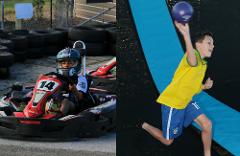 Combo #1 (Fun Karts 15 & Trampoline Park 60)