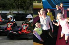 Combo #5 (Fun Karts 10 & Trampoline Park 30)