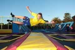 1 hour of Trampoline Park (Now 2 hrs) - PAY NOW & SAVE! And get a FREE upgrade to Two hours of Trampolining!!