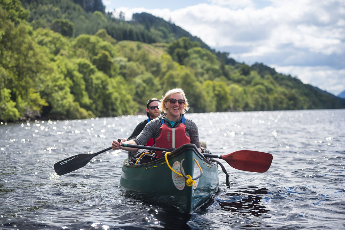 Explore Loch Ness by Canoe (1 hr taster)