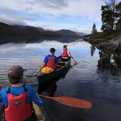 Canoeing at Forest Holidays Argyll
