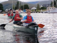 Guided Canoe Tasters at Loch Lomond Shores (1 hour)