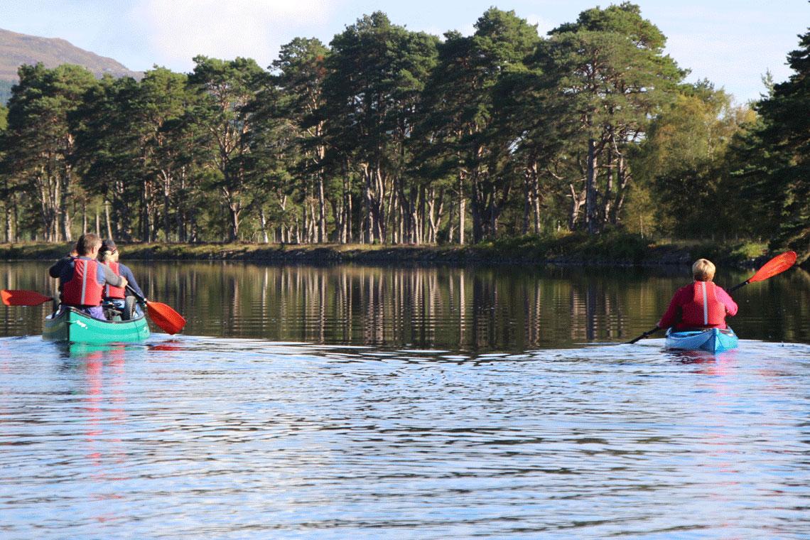 Canoe across Scotland (5-day Expedition)