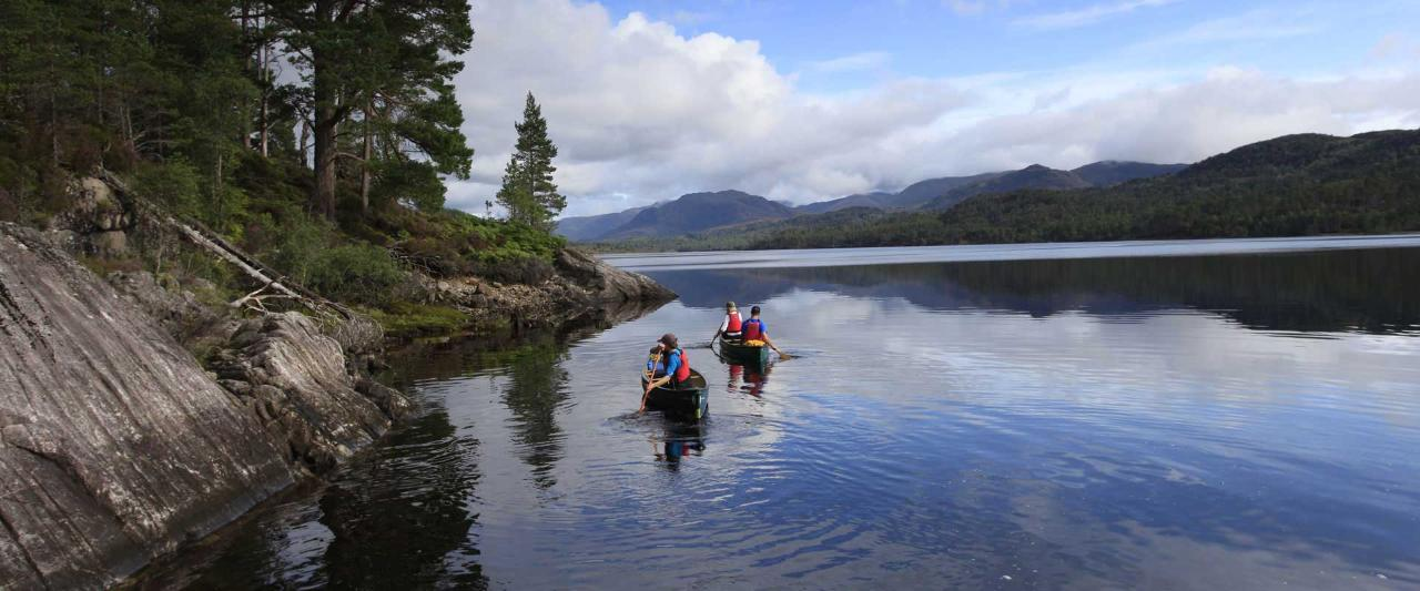 Canoeing on Loch Tay (1.5 hrs)