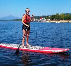 Stand up Paddle (SUP) Boarding at Loch Lomond Shores (1 hour)