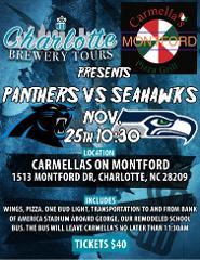 11-25 Seattle @ Carolina Tailgate!