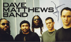 Dave Matthews Band Shuttle 7/24/2018