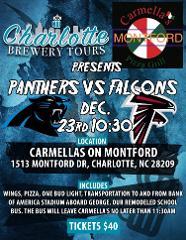 12-23 Atlanta @ Carolina Tailgate!
