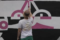 [Workshop Experience] Graffiti Workshop e tour na Vila Mariana com Rolinho / Roller Painting • PORT/ENG
