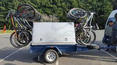 Shingleback 12 Bike MTB Trailer